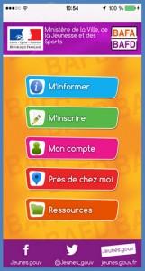 application mobile JE